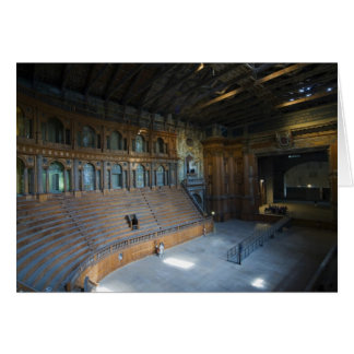 Italy, Parma, Teatro Farnese Card