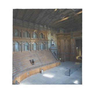 Italy, Parma, Teatro Farnese Note Pad