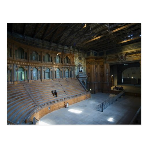 Italy, Parma, Teatro Farnese Postcard