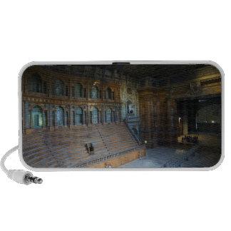 Italy, Parma, Teatro Farnese Notebook Speakers