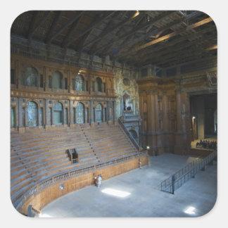 Italy, Parma, Teatro Farnese Stickers