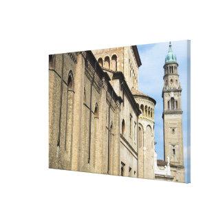 Italy, Parma, Tower of San Giovanni Church Canvas Prints