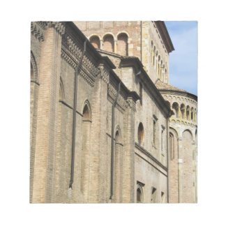 Italy, Parma, Tower of San Giovanni Church Note Pad