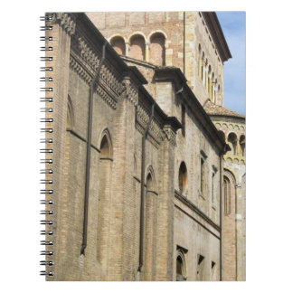 Italy, Parma, Tower of San Giovanni Church Notebook