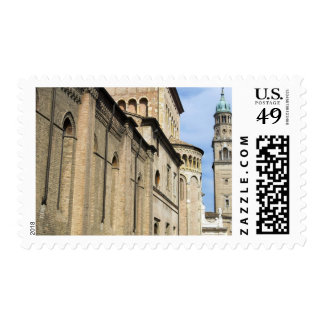 Italy, Parma, Tower of San Giovanni Church Postage Stamps