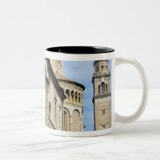 Italy, Parma, Tower of San Giovanni Church Two-Tone Coffee Mug