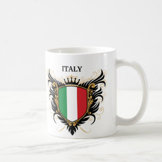 Italy [personalize] classic white coffee mug