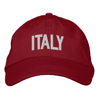 Italy Personalized Adjustable Hat