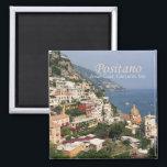 """Italy Photo Travel Fridge Magnet Compania Positano<br><div class=""""desc"""">Refrigerator magnets picture Compania Positano in Italy.</div>"""
