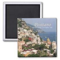 Italy Photo Travel Fridge Magnet Compania Positano