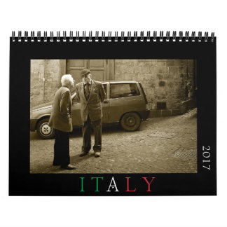 Italy photography calendar for 2017