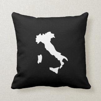 Italy Pictogram Throw Pillow