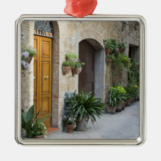 Italy Pienza Flower pots and potted plants Christmas Tree Ornament
