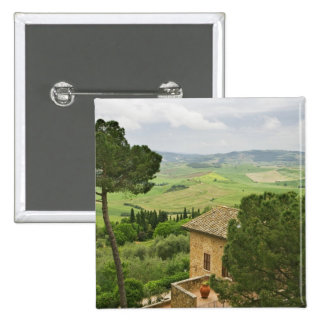 Italy, Pienza. View of the Tuscany Pin