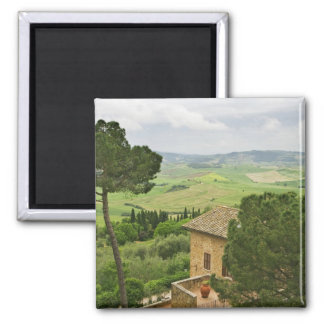 Italy, Pienza. View of the Tuscany Magnet