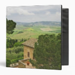 Italy, Pienza. View of the Tuscany Vinyl Binders