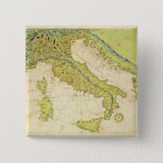 Italy Pinback Button