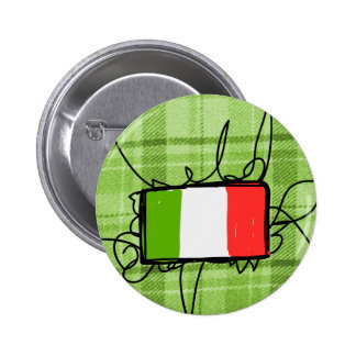 Italy Pinback Buttons