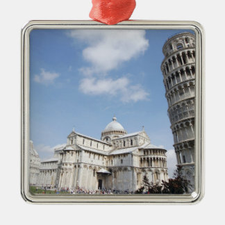 Italy, Pisa. Cathedral, baptistry and Leaning Metal Ornament