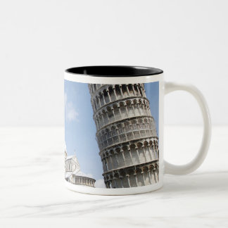 Italy, Pisa. Cathedral, baptistry and Leaning Two-Tone Coffee Mug