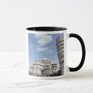 Italy, Pisa. Cathedral, baptistry and Leaning Mug