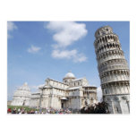 Italy, Pisa. Cathedral, baptistry and Leaning Postcards