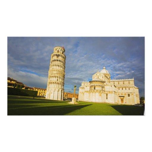 Italy, Pisa, Duomo and Leaning Tower, Pisa, 2 Photo Art