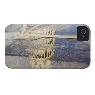 Italy, Pisa, Selective Focus of the Leaning iPhone 4 Case