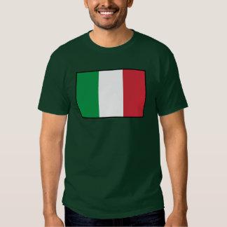 Italy Plain Flag T Shirt