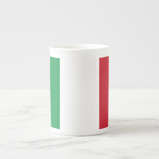 Italy Plain Flag Tea Cup