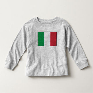 Italy Plain Flag Toddler T-shirt