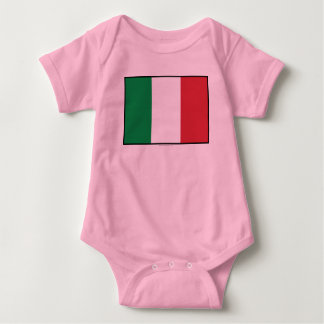 Italy Plain Flag Shirt