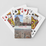 "Italy Playing Cards<br><div class=""desc"">Savor,  or experience for the first time,  the beauty of Florence,  Italy through these playing cards. My sister and I lived in Florence for almost a year and enjoyed snapping photos (such as the 3 here) of everything from the majestic Duomo di Firenze to the narrow,  cobblestone roads.</div>"
