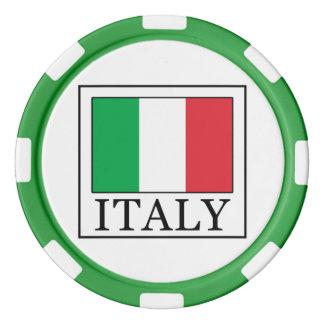 Italy Poker Chip Set