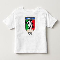 Toddler Fine Jersey T-Shirt with Italian Pommel Horse Panda design