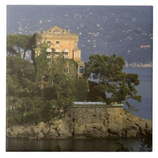 Italy, Portofino. Scenic life on the Ceramic Tile