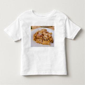 Italy, Positano. Display plate of rigatoni. Toddler T-shirt