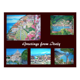 Italy - Postcard