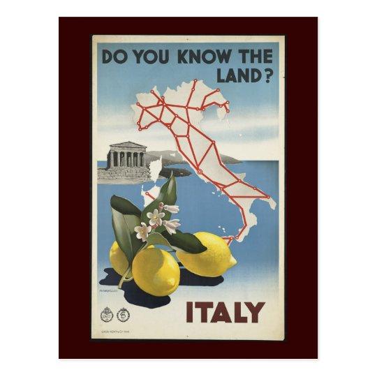 Italy Postcard