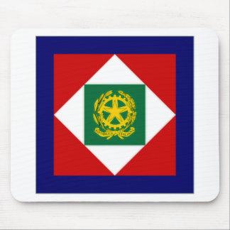 Italy President Flag Mousepad