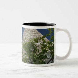 Italy, Puglia, Alberobello, Terra dei Trulli, 2 Two-Tone Coffee Mug