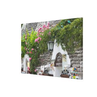 Italy, Puglia, Alberobello, Terra dei Trulli, Canvas Print