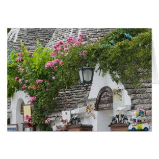 Italy, Puglia, Alberobello, Terra dei Trulli, Card