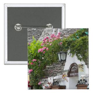 Italy, Puglia, Alberobello, Terra dei Trulli, Pinback Button