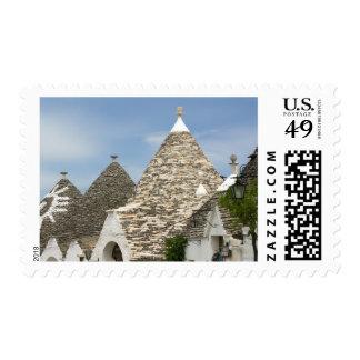 Italy, Puglia, Alberobello, Terra dei Trulli, Stamp