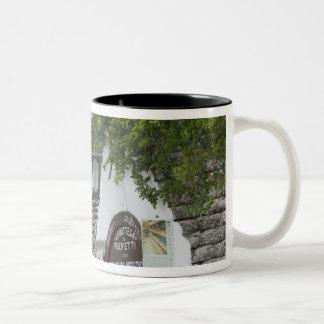 Italy, Puglia, Alberobello, Terra dei Trulli, Two-Tone Coffee Mug