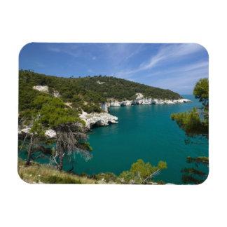 Italy, Puglia, Promontorio del Gargano, Testa Flexible Magnets