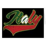 Italy Retro Card