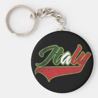 Italy Retro Keychain