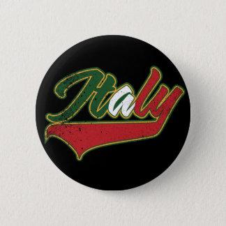Italy Retro Pinback Button